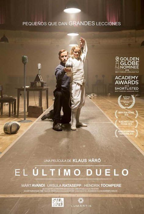 The Fencer : Affiche