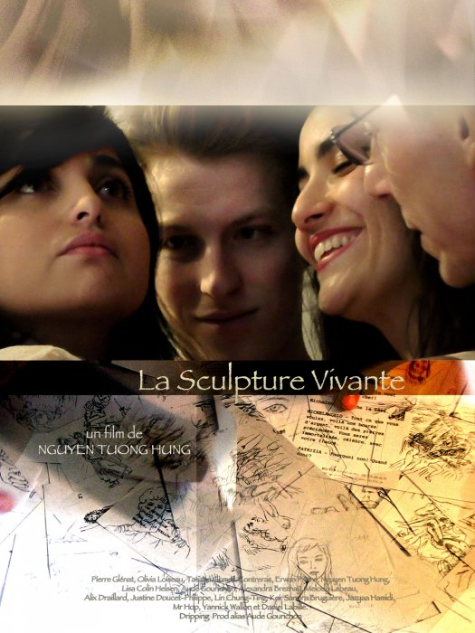 La Sculpture vivante : Affiche