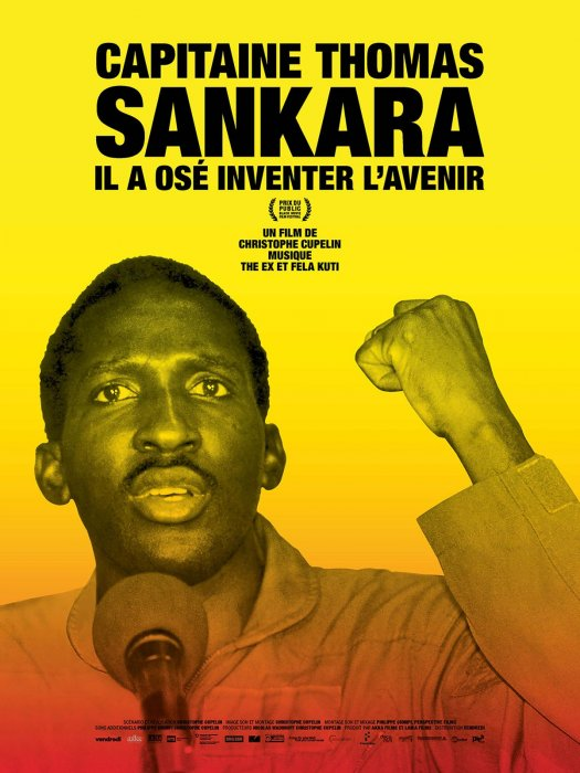 Capitaine Thomas Sankara : Affiche