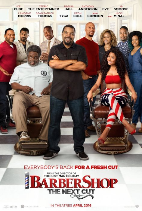 Barbershop: The Next Cut : Affiche