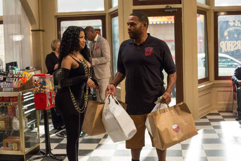 Barbershop: The Next Cut : Photo Anthony Anderson, Nicki Minaj