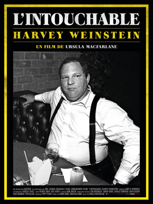 L'Intouchable, Harvey Weinstein : Affiche