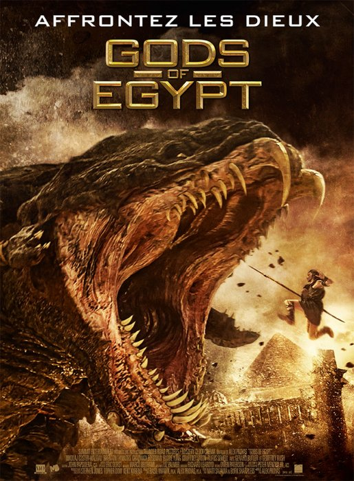 Gods Of Egypt : Affiche