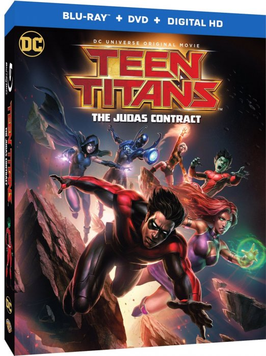 Teen Titans: The Judas Contract : Affiche
