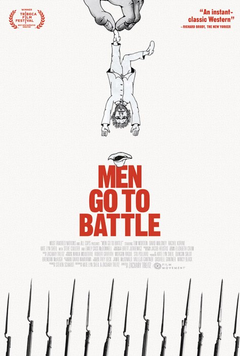 Men Go to Battle : Affiche