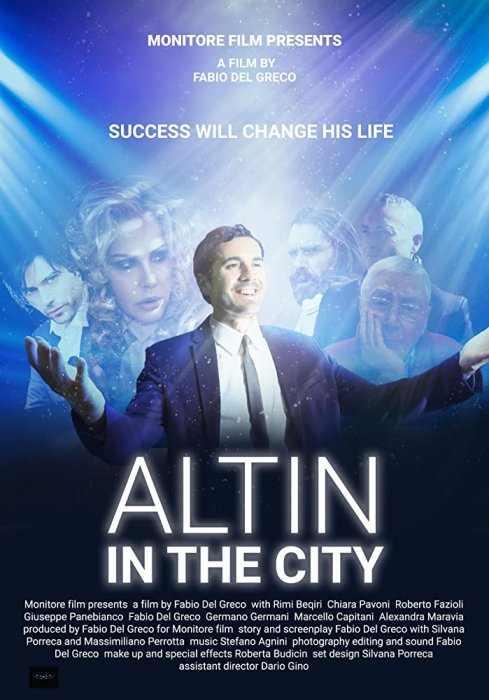 Altin in the city : Affiche