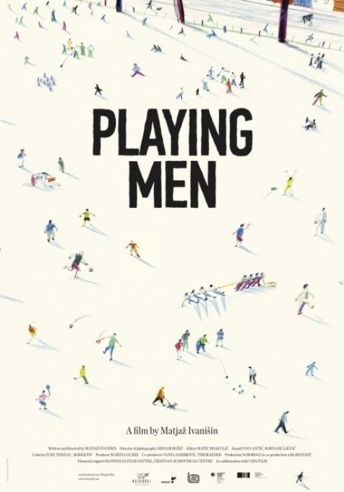 Playing Men : Affiche