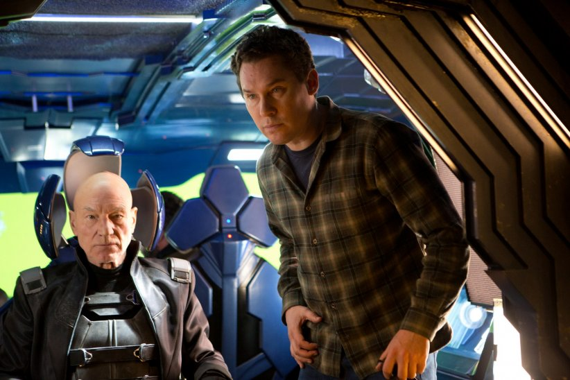 X-Men: Days of Future Past : Photo Bryan Singer, Patrick Stewart