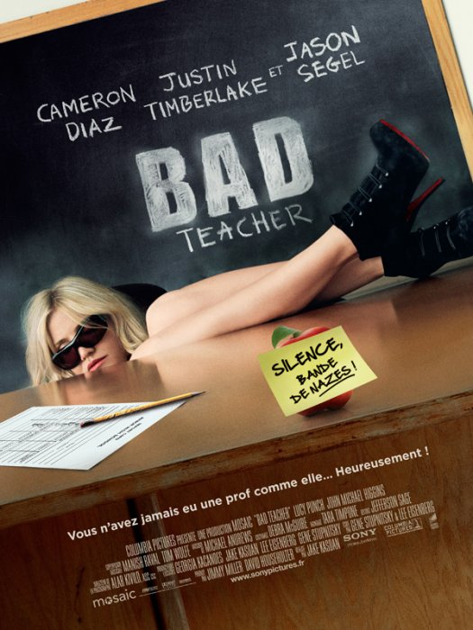 Bad Teacher : affiche