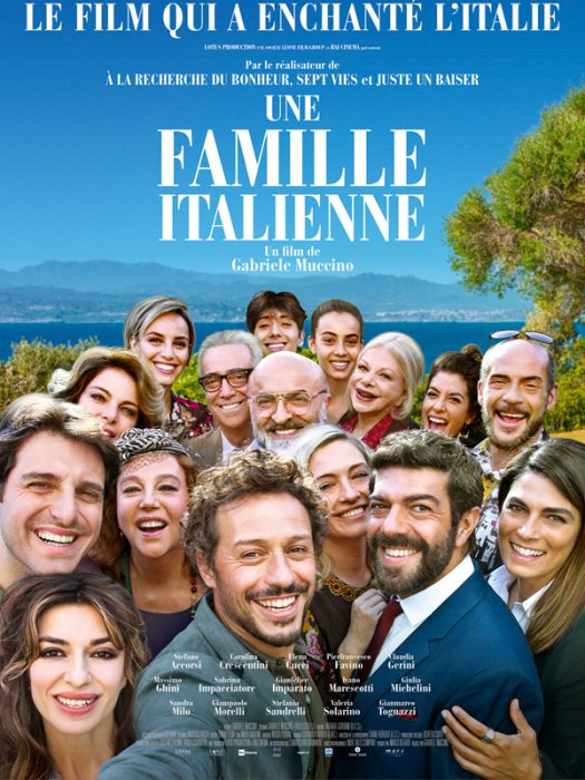 Une Famille italienne : Affiche