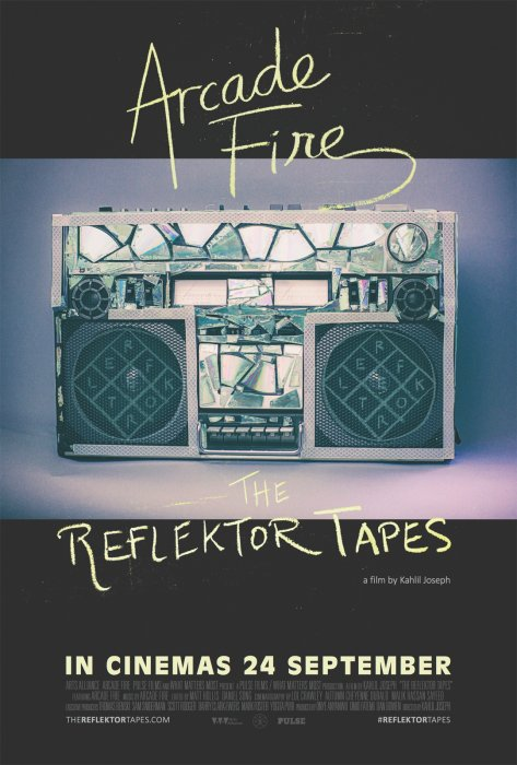 The Reflektor Tapes : Affiche