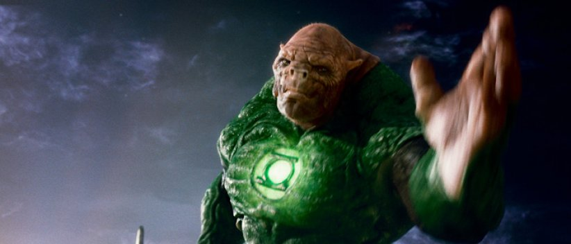 Green Lantern : Photo Michael Clarke Duncan