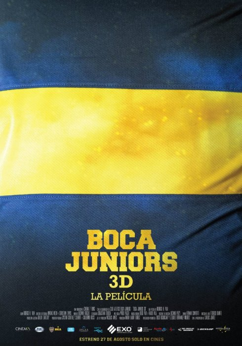 Boca Juniors 3D: The Movie : Affiche