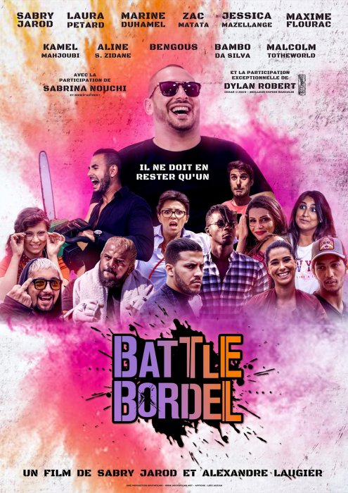 Battle Bordel : Affiche