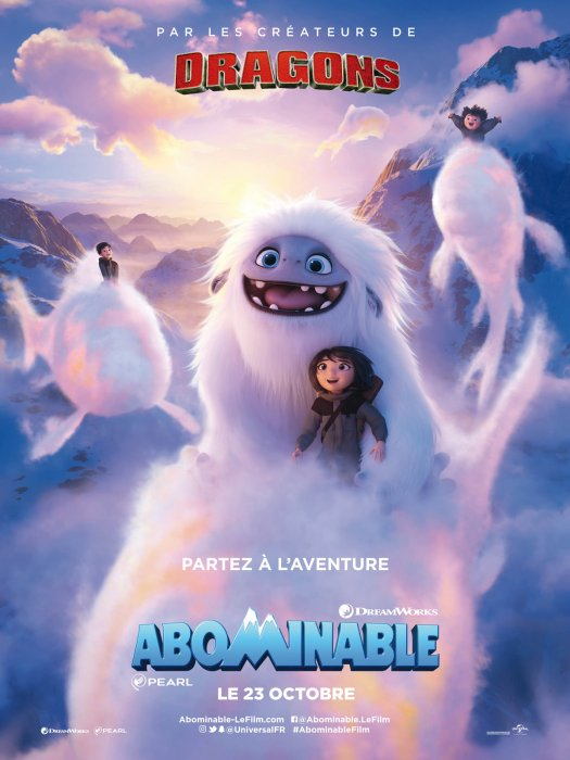 Abominable : Affiche