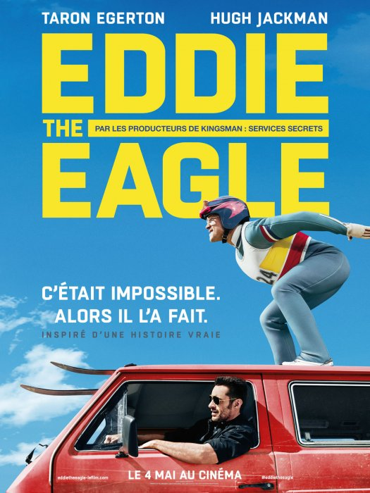 Eddie The Eagle : Affiche