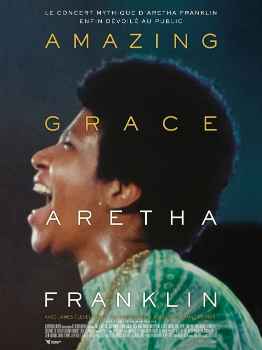 Amazing Grace - Aretha Franklin : Affiche
