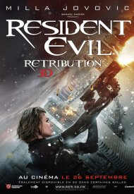 Affiche de Resident Evil: Retribution