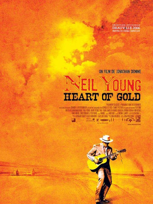 Neil Young : Heart of Gold : affiche Jonathan Demme, Neil Young