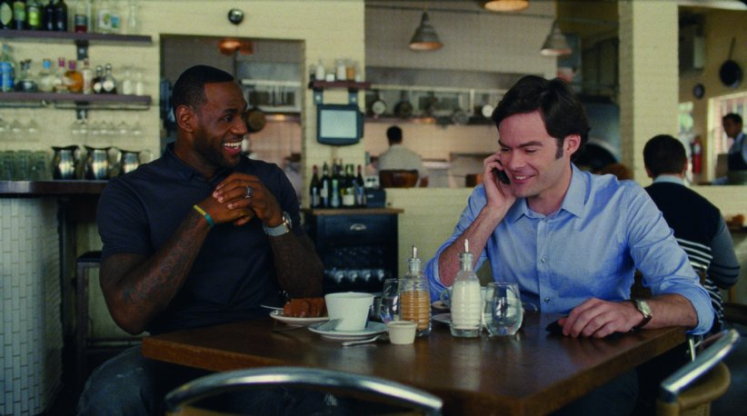 Crazy Amy : Photo Bill Hader, LeBron James