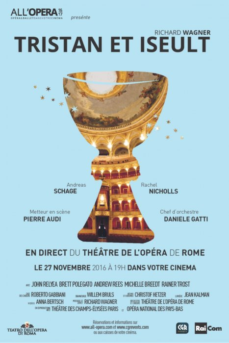 Tristan et Isolde - All'Opera (CGR Events) : Affiche