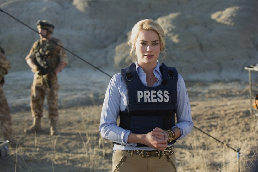 Whiskey Tango Foxtrot : Photo Margot Robbie