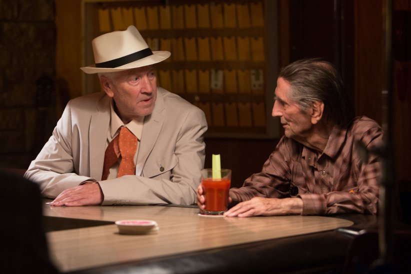 Lucky : Photo David Lynch, Harry Dean Stanton