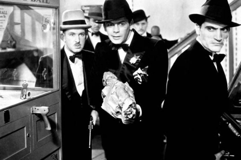 Scarface : Photo Howard Hawks, Paul Muni, Vince Barnett