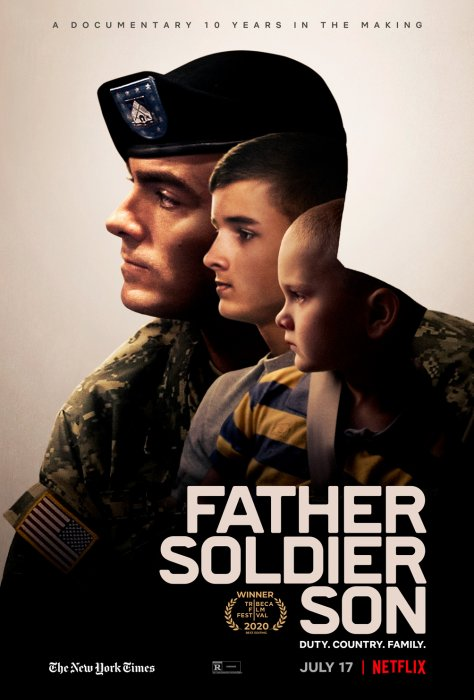 Father Soldier Son : Affiche