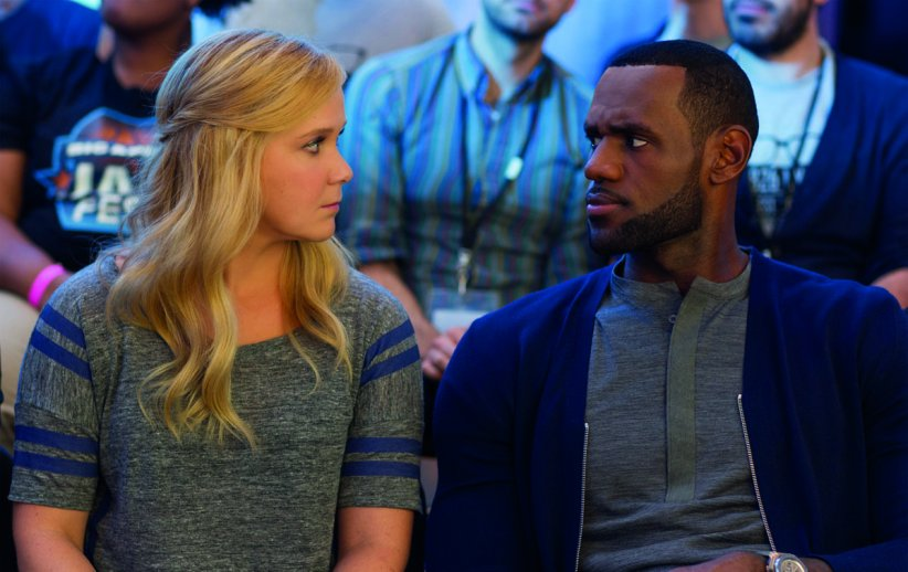 Crazy Amy : Photo Amy Schumer, LeBron James