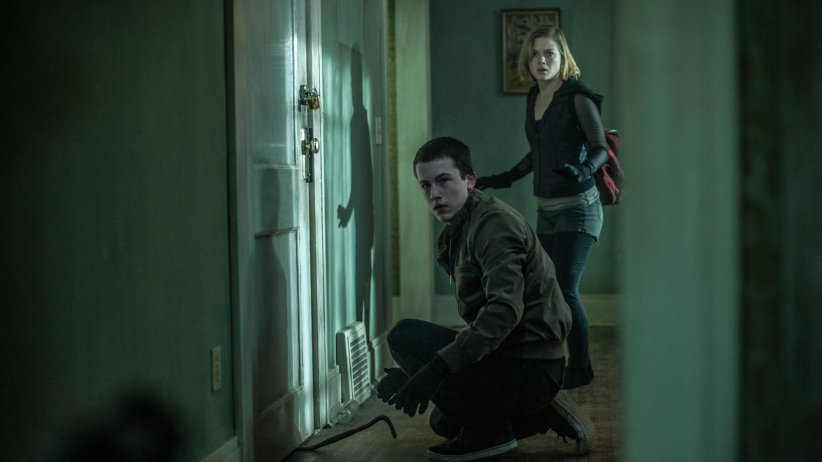 Don't breathe - La maison des ténèbres : Photo Dylan Minnette, Jane Levy