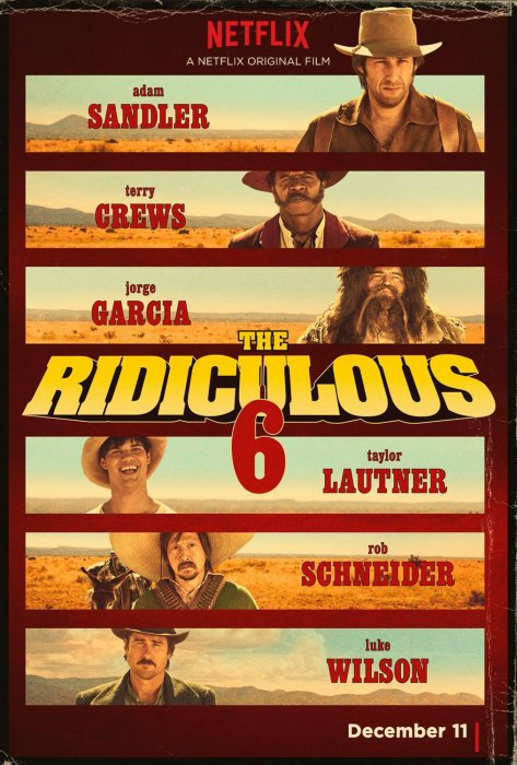 The Ridiculous 6 : Affiche