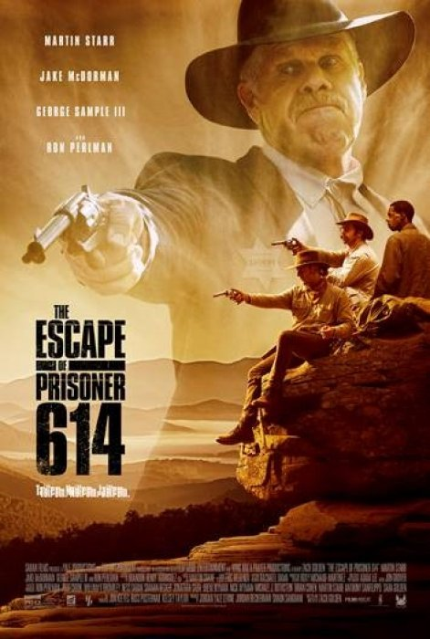 The Escape of Prisoner 614 : Affiche