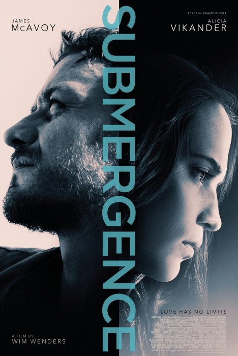 Submergence : Affiche