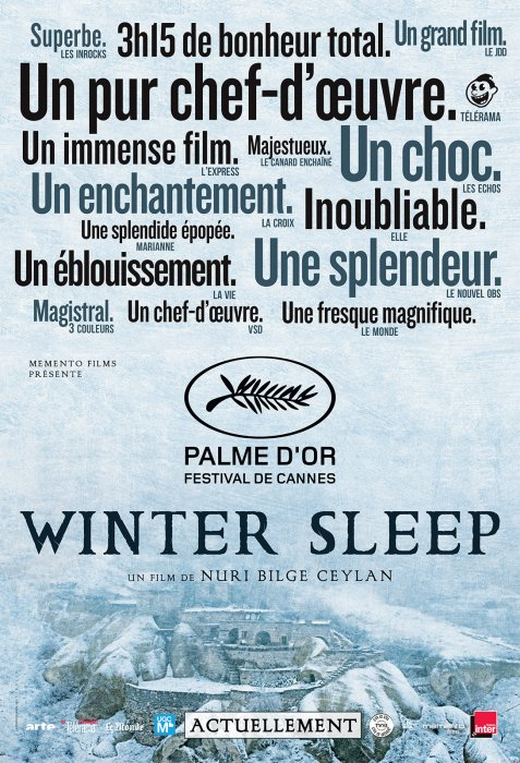 Winter Sleep : Affiche
