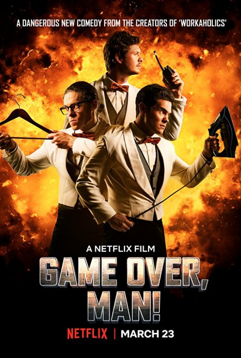 Game Over, Man! : Affiche
