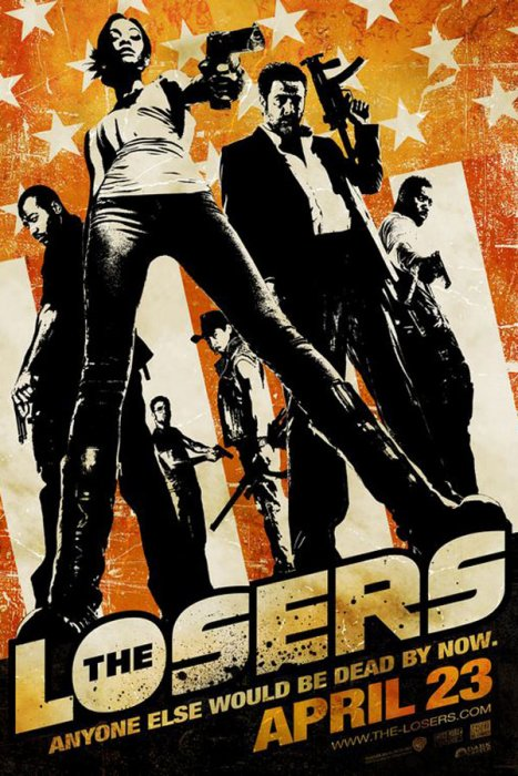 The Losers : Affiche Sylvain White