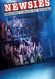 Affiche de Disney's Newsies the Broadway Musical