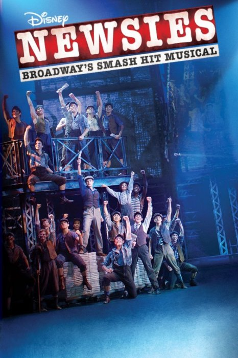 Disney's Newsies the Broadway Musical : Affiche
