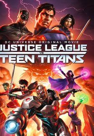 Affiche de Justice League vs. Teen Titans