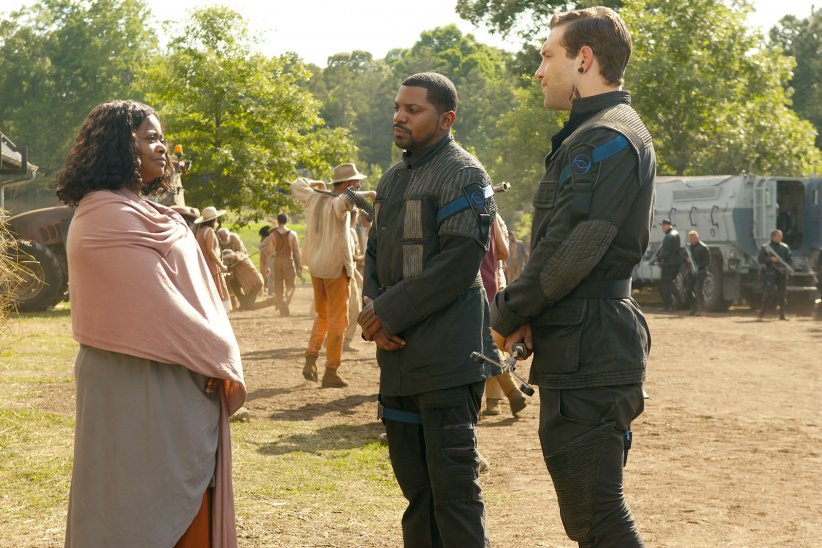 Divergente 2 : l'insurrection : Photo Jai Courtney, Mekhi Phifer