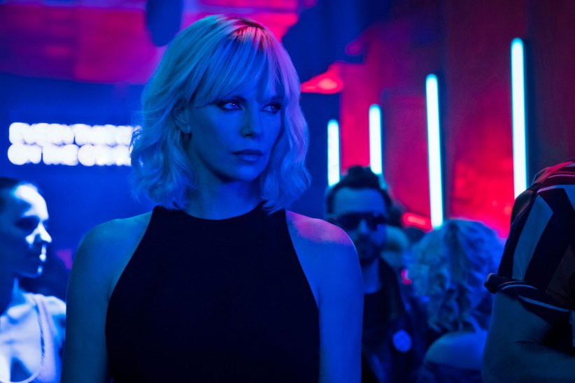 "Charlize Theron dans ""Atomic Blonde"""
