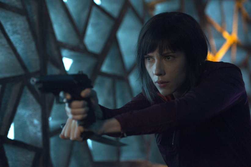 "Scarlett Johansson dans ""Ghost in the Shell"""