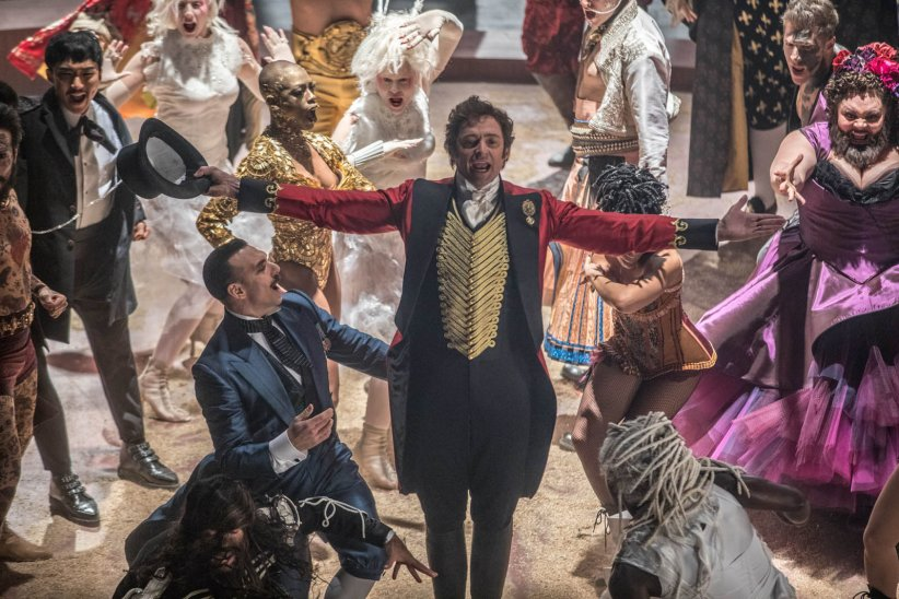 "Hugh Jackman dans ""The Greatest Showman"""