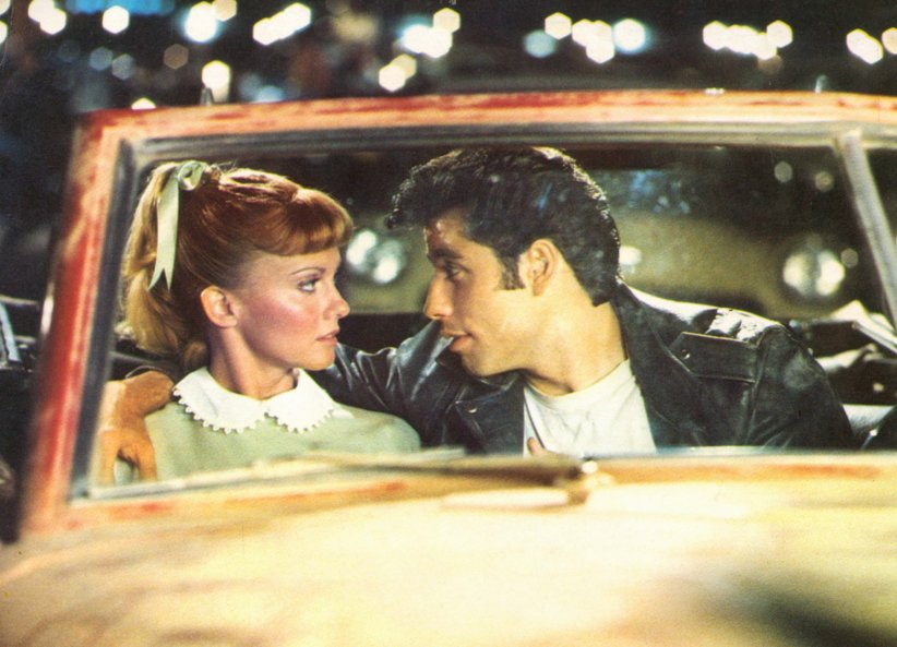 "John Travolta et Olivia Newton-John, ""Grease"" (1978)"