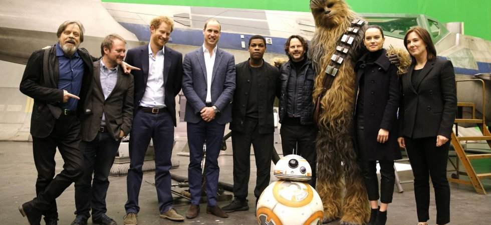 Star Wars 8 : les princes William et Harry ont rendu visite à Chewbacca !