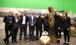 Star Wars 8: William et Harry sur le tournage