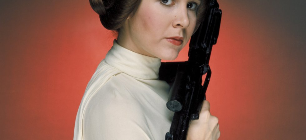 Carrie Fisher : la princesse Leia s'essaye au courrier du coeur