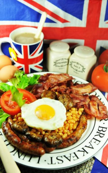 Le Full English Breakfast