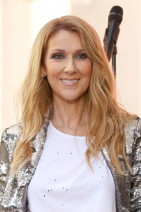 "Céline Dion donne un concert pour l'émission ""The Today Show"", sur NBC, à New York, le 22 juillet 2016."